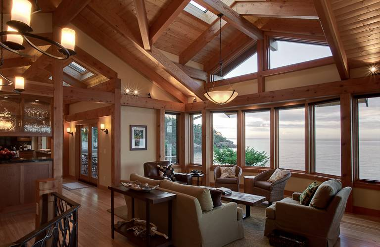 Pacific Northwest Island Retreat