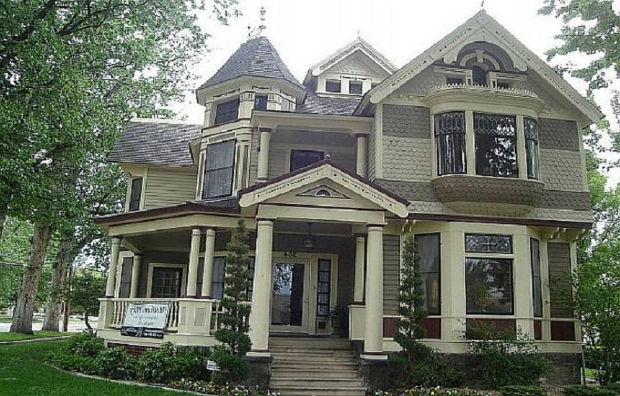 Paint Victorian Style Home Gothic Houses
