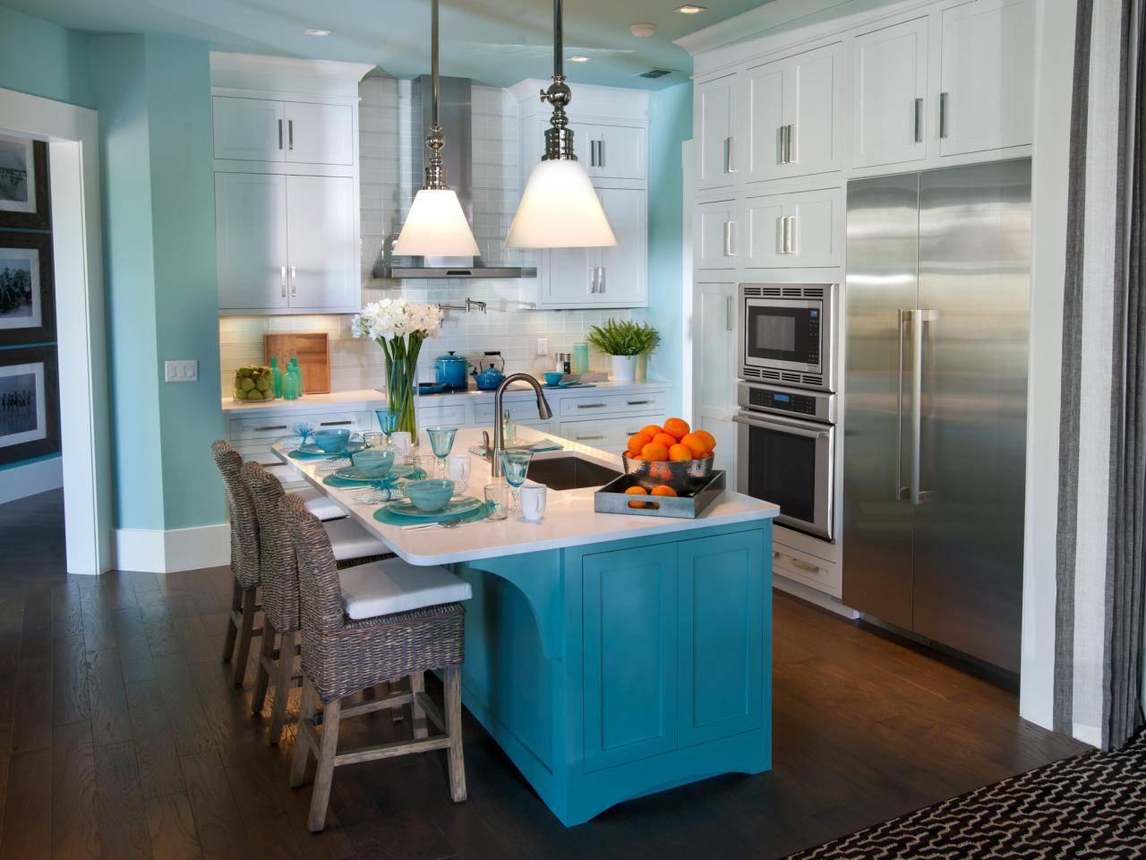 Painting Kitchen Islands Ideas Tips Hgtv