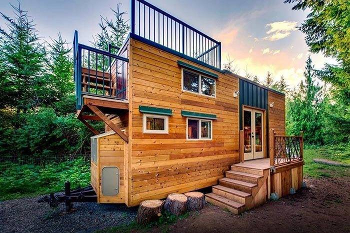Pair Engineers Design Pet Friendly Off Grid Tiny House