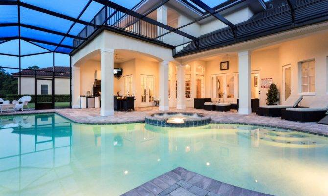 Palatial Mini Mansion Reunion Resort Homes