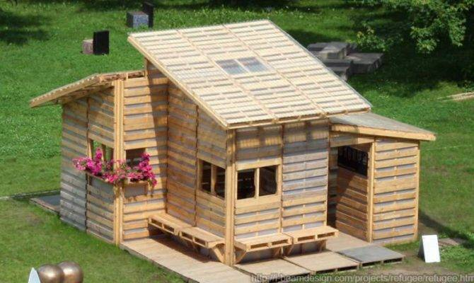 Pallet House Multifunctional Garden Shed Cabin