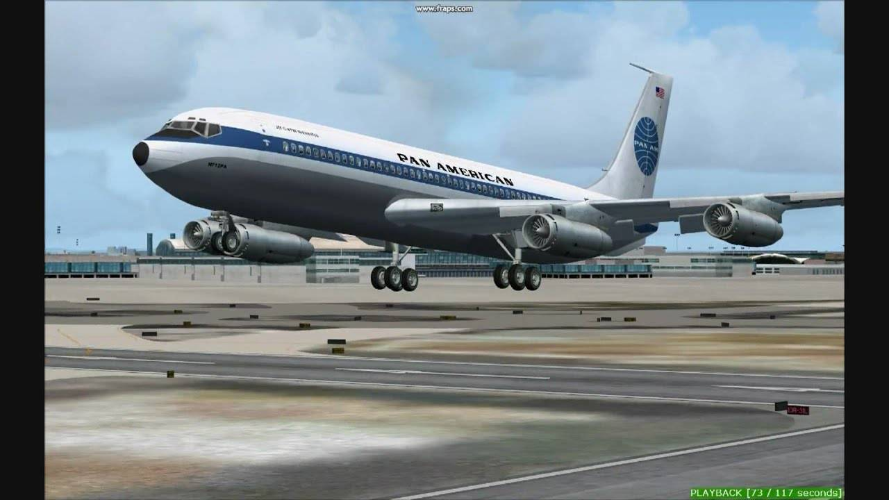Pan American Boeing Takeoff Kjfk Youtube