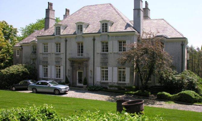 Panoramio French Style Mansion Fisher Hill Early