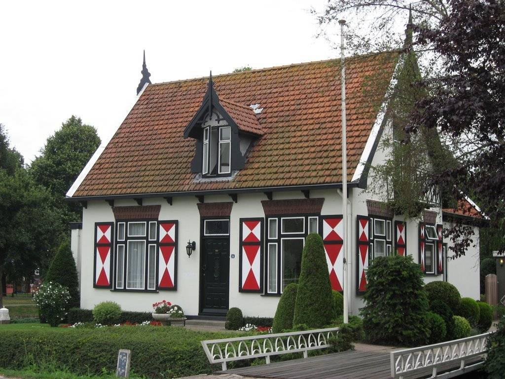 Panoramio Traditional Dutch House Mijdrecht