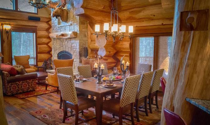 Parade Home Moose Ridge Cabin Log Rustic