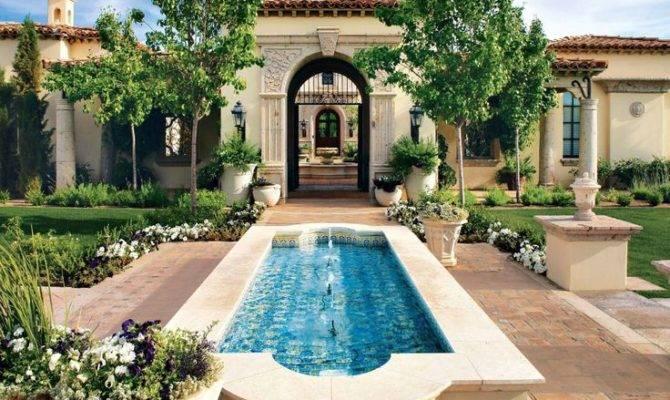 Patios Luxury Homes Mediterranean Residential Architecture