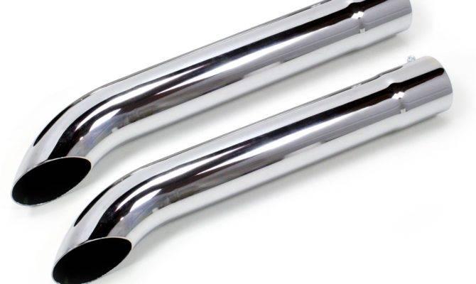 Patriot Exhaust Side Pipe Steel Chrome Diameter Inlet