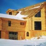Patriot Log Home Builders Hand Hewn