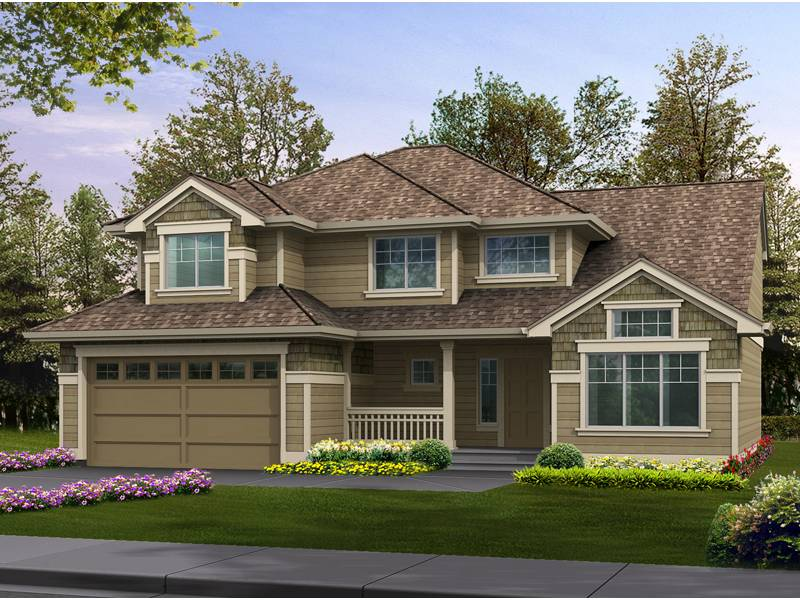 Patterson Woods Craftsman Home Plan House