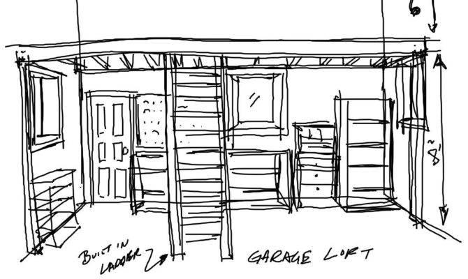 Pdf Garage Loft Plans Diy Pattern Tall
