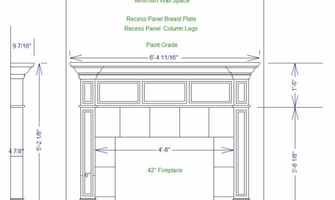 Pdf Plans Building Fireplace Mantle