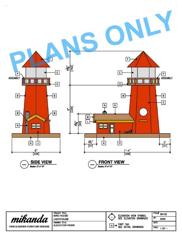 Pdf Plans Woodworking Projects Lighthouse Deck