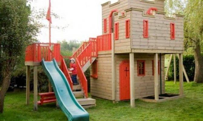 Pdf Playhouse Castle Plans Outdoor