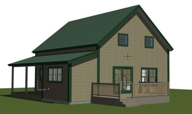 Perfect Small Barn House Plans