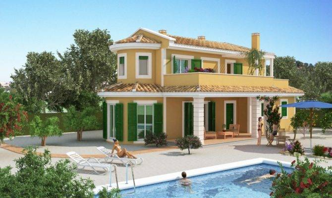 Perfect Spanish Villa Homes House Plans
