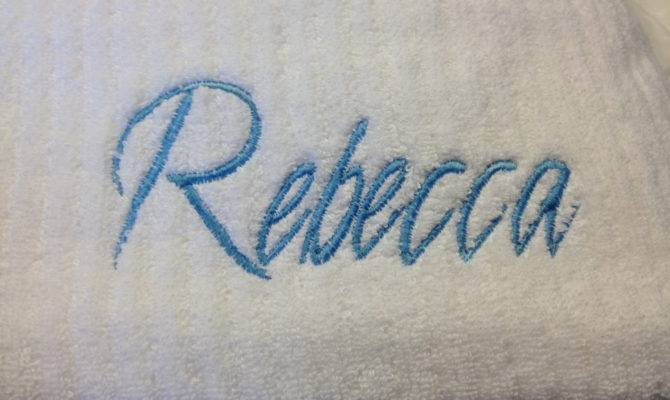 Personalized Extra Large Spa Bath Sheet Towels Susiesstash