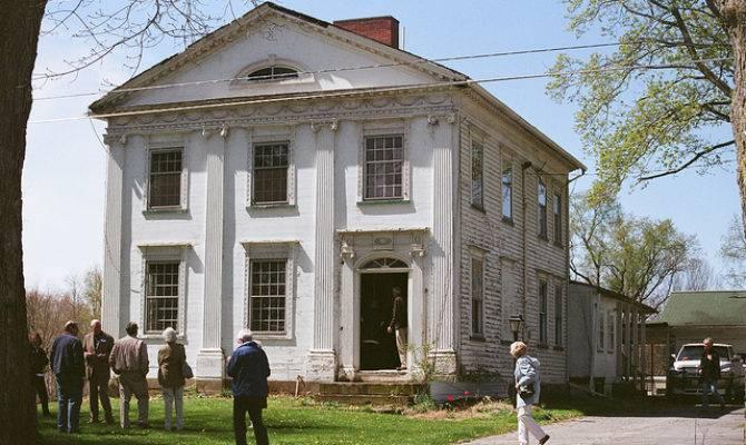 Peter Allen Greek Revival Style House Kinsman