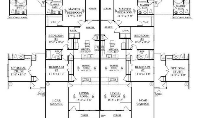 Photos Duplex Floor Plans Design