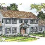Pics Photos Colonial House Plans Ideas Wonderful White