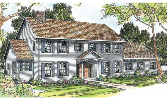 Pics Photos Colonial House Plans Ideas Wonderful White