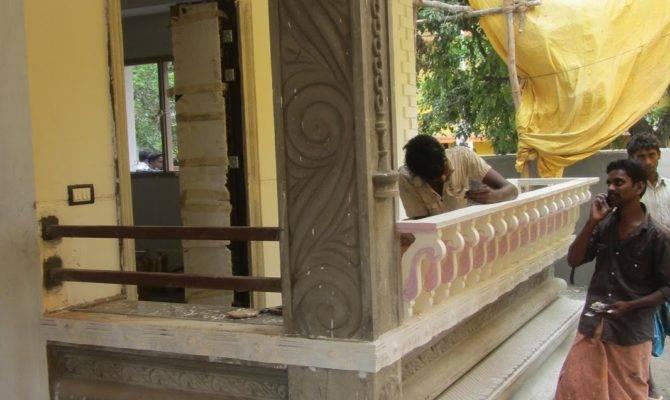 Pics Pillar Designs Home Kerala