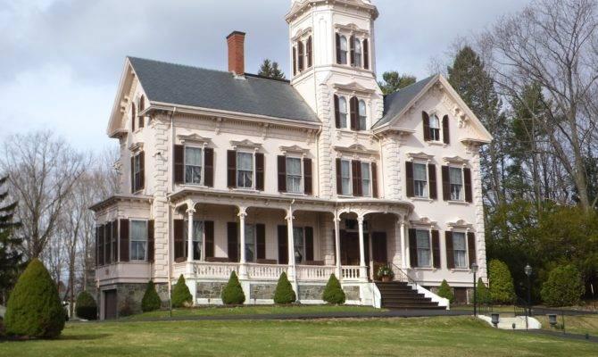 Picturesque Style Italianate Architecture Benjamin Franklin