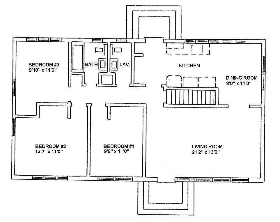 Piedmont Ranch Style Houses Sample Floorplans Uva Housing Residence