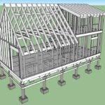 Pier Foundation House Beam