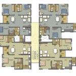 Pin Apartment Floor Plans Bedroom Views Pinterest