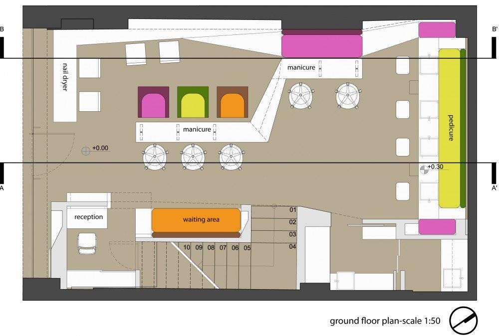 Pin Beauty Shop Floor Plans Pinterest
