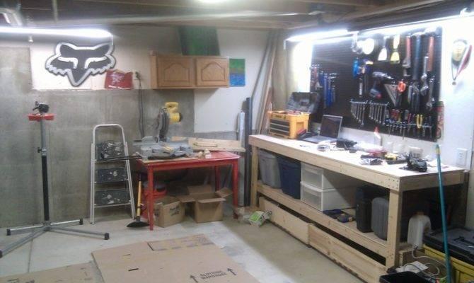 Pin Brian Fox Workshop Basement Pinterest