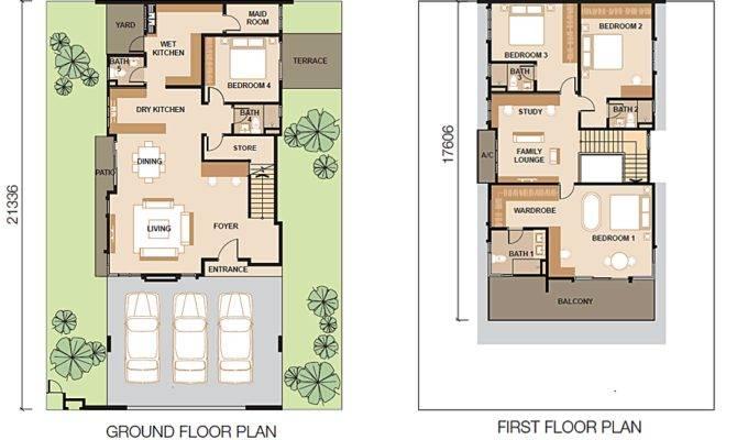 Pin Bungalow Floor Plan Pinterest
