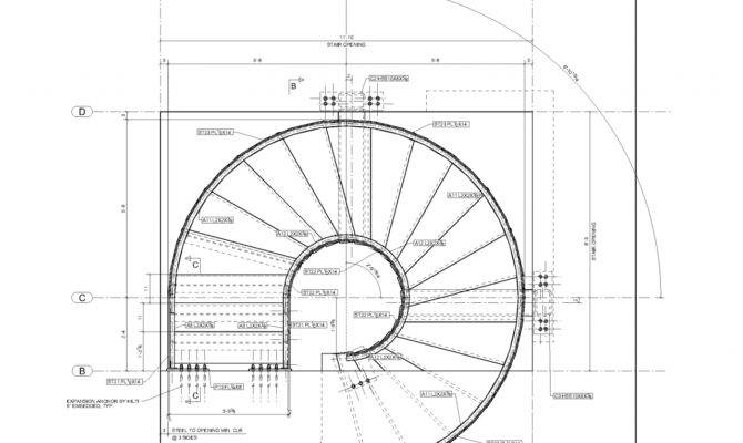 Pin Spiral Stair Plans Stairs Crafted Wood Pinterest