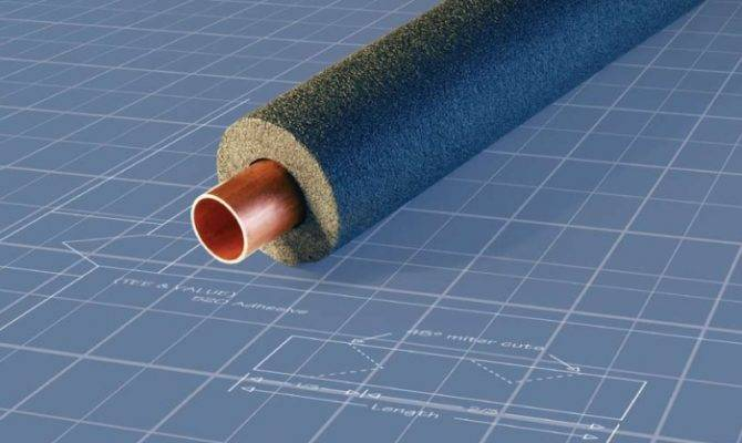 Pipe Insulation Used Insulate Hot Water Non Steam Pipes