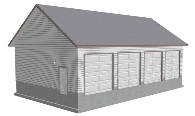 Pitch Workshop Garage Plans