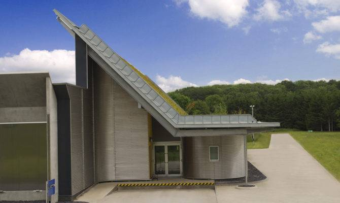Pitched Green Roofs Modern Design Element