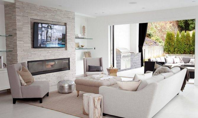 Place Above Fireplace Comfortable Angle