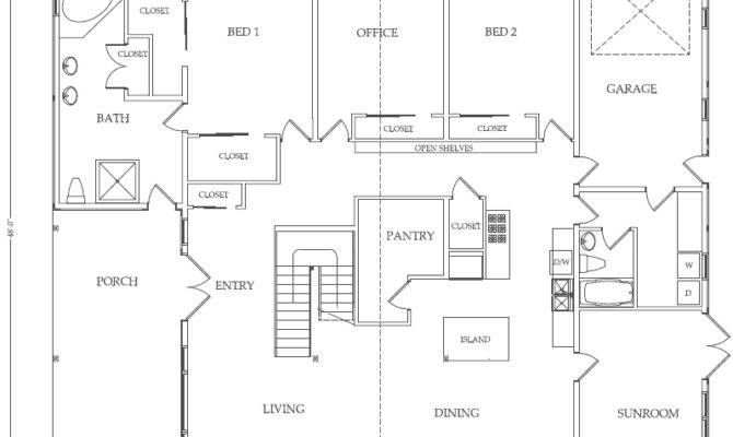 Plain Examples Simple Floor Plans Barn Home Sample