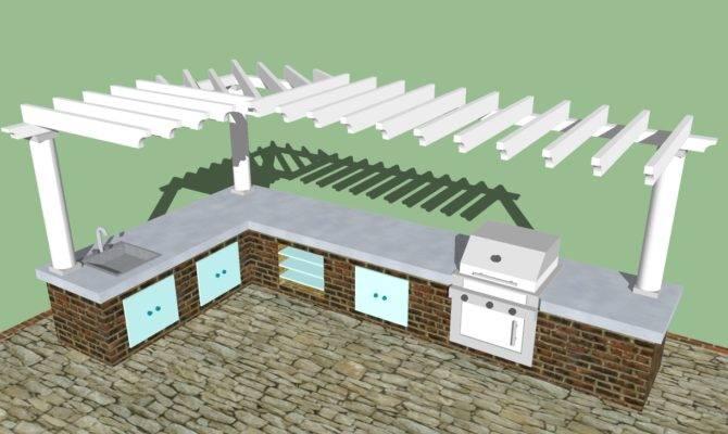 Plain Outdoor Kitchen Design Plans Izvipi