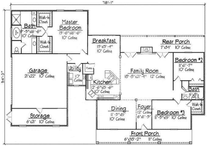 Plan Acadian Style House Plans Floor Home