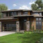Plan Big Bright Prairie Style House