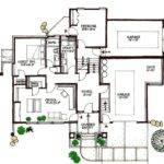 Plan Contemporary Multi Level Architectural
