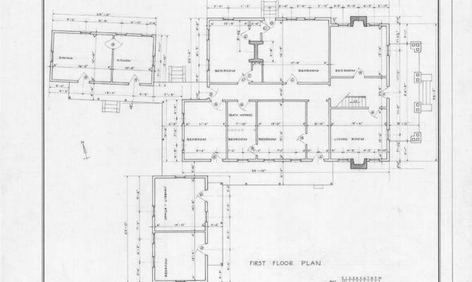 Plan Eddins House Palmerville North Carolina Boarding
