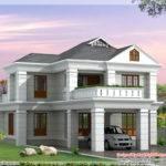 Plan Elevation Feet Bedroom House Kerala Home