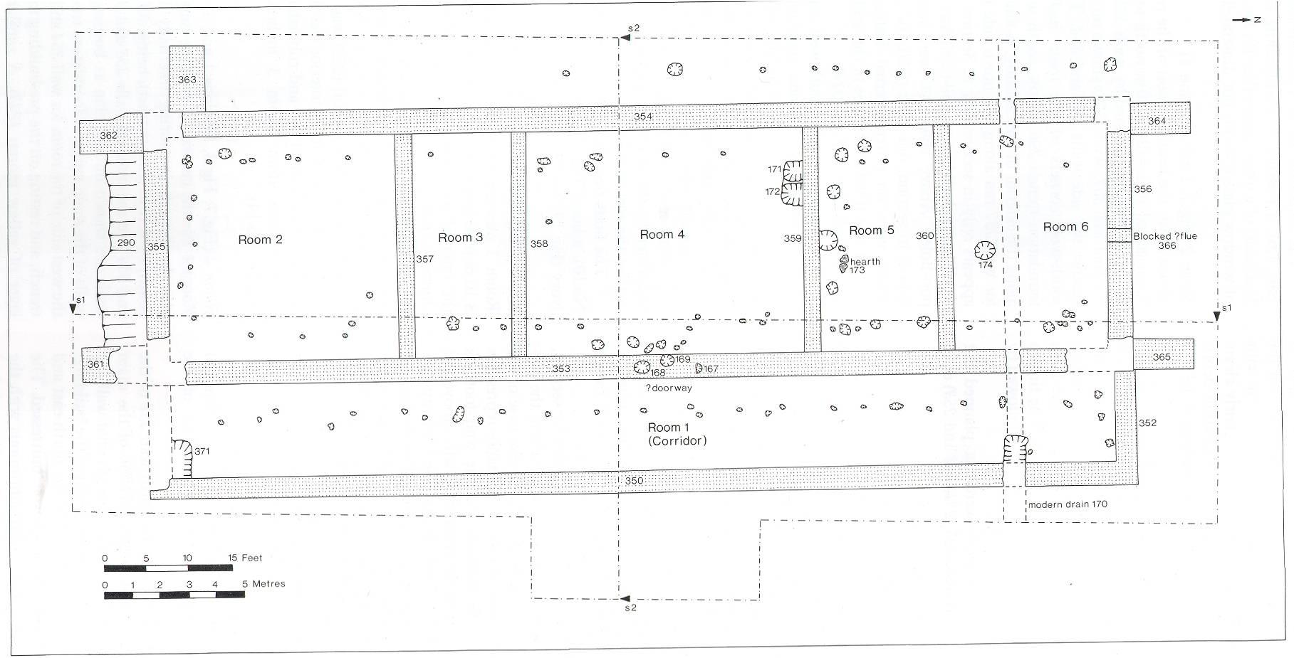 Plan Elevation Roman Villa Posters Htm