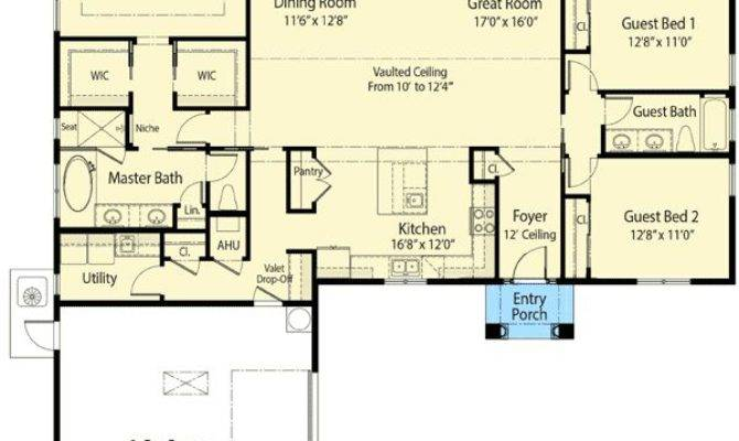 Plan Energy Efficient Ranch House