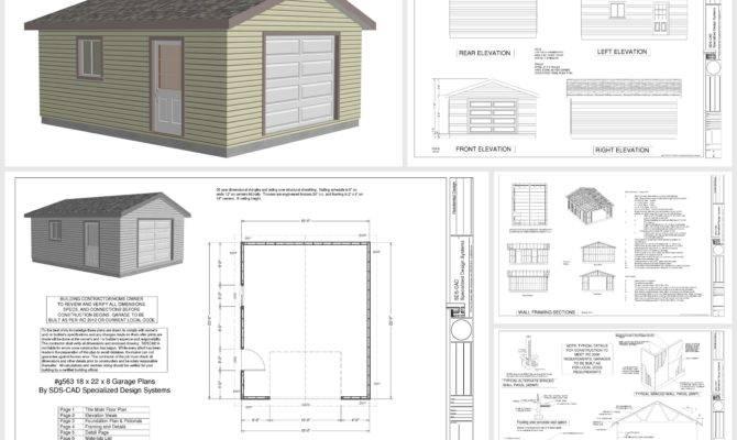 Plan Garage Plans Sample Order Below