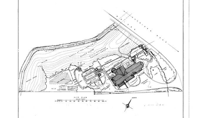 Plan Glasner House Sheridan Road