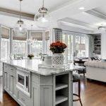 Plan Ideas Combined Room Kitchen Fairfax